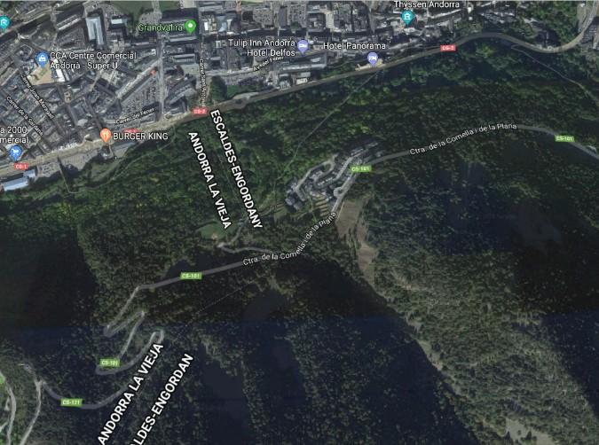Compra Urbanitzable Escaldes-Engordany: 1394 m² - 2.300.000 €