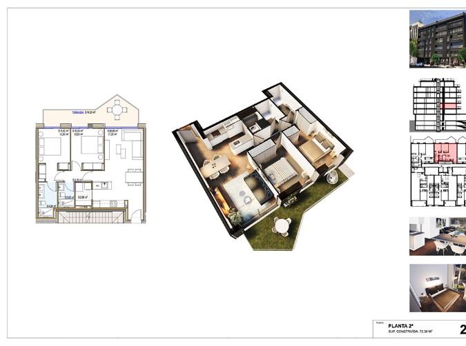 Compra Pis Andorra la Vella: 72 m² - 395.000 €